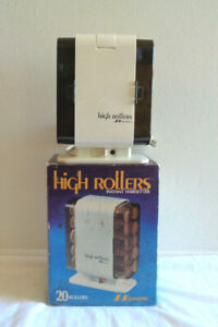 Vtg New NIB Northern by Sunbeam High Hot Rollers Instant Hairsetter 1518