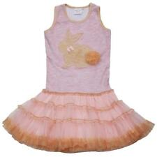 OOH! LA, LA! COUTURE tutu pink dress Girls Youth 14 cotton blend