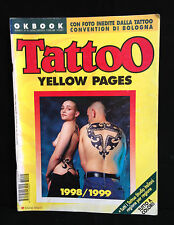 TATTOO YELLOW PAGES - N.15 LUGLIO/AGOSTO 1998