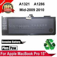 """Genuine A1321 Battery For Macbook Pro 15"""" A1286 MC118 mid-2009 2010 MC372LL/A"""