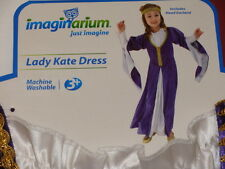 Imaginarium Lady Kate Dress Medieval Girls Dress Costume NEW Child Size
