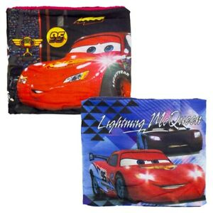 Official Disney Cars Fleece Lined Snood Neck Gaiter Scarf Set With Mask