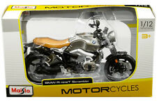 BMW R9 T Scrambler Maisto Motorcycles 1:12 Die-cast Model Motorcycles NIB