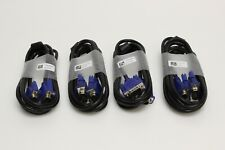 4x TY5K390005 15-Pin VGA Male/Male Video Display Cable (HL747GN) NEW