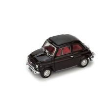FIAT 500 L 1968-72 CHIUSA MARRONE 1:43 Brumm Auto Stradali Die Cast Modellino