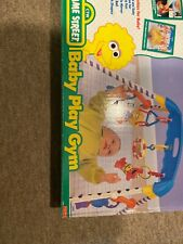 Vintage 1997 Sesame Street Baby Play Gym Complete In Box