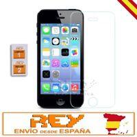 Protector Pantalla IPHONE 5 5S 5C SE Cristal Templado Vidrio, Toallitas p264 vr