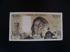 500   FRANCS   PASCAL  1985    H 232