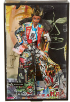 JEAN-MICHEL BASQUIAT X BARBIE COLLECTOR DOLL WITH COA AND DOLL STAND - NEW