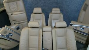 BMW 7er E65 Innenausstattung Komfort Sitze Lederausstattung Komplett 1Y182-159
