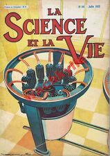 Science et vie n°181 du 07/1932 Villeurbanne Kembs Métrologie TSF Pétrole