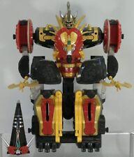 Power Rangers Dino Thunder Mezodon Megazord Deluxe Figure Near Complete Chariot
