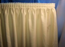 14' IVORY POLYESTER PLEATED TABLE SKIRT skirting Trade show Wedding