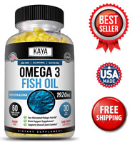Omega 3, Extra Strength Joint Pain Relief, Compare to Omega XT XL EPA & DHA