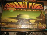 Forbidden Planet C-57D Starcruiser Model Kit Giant Flying Saucer Model Kit new