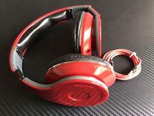 Stereokopfhörer Laut HD Kopfhörer Handys & Mp3 Player Faltbar 3,5mm Neu ROT