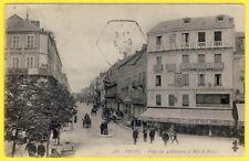 cpa VICHY (Allier) PLACE des 4 CHEMINS CAFÉ  Maurice DUROCHAT à LEYMENT