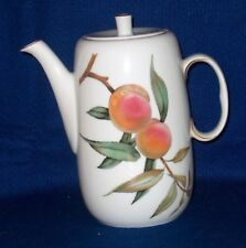 ROYAL WORCESTER  EVESHAM  GOLD   COFFEE POT