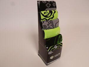XBOX x box gaming Socks  6 Pair CREW SOCKS SIZE 8-12 Bioworld Mens