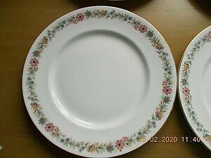 """11 ROYAL ALBERT   PARAGON   BELINDA DINNER PLATES 10 1/4"""" Dia"""