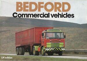 Bedford Commercial Vehicles Brochure 1980 Chevanne HA CF TK M SB YMT Ranges