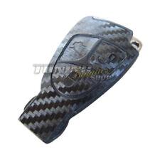Schlüssel Carbon Design Dekor Folie Aufkleber Sticker SCHWARZ pass. für Mercedes