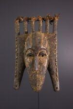 MASQUE SENOUFO AFRICAN ART AFRICAIN PRIMITIF ARTE AFRICANA AFRIKANISCHE KUNST **