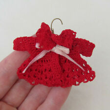 Artisan Dollhouse HAND CROCHETED BABY SWEATER Miniature Knitting Doll Clothing