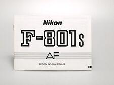Nikon F-801S AF Bedienungsanleitung