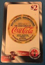 Coca-Cola 1912 Sprint Phone Card $2 Issued: 12/95 -Rare-unused