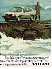 PUBLICITE ADVERTISING 094  1979  VOLVO 343 DI