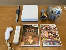 Nintendo Wii Console + Remote + Games Bundle