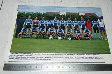 CLIPPING POSTER FOOTBALL 1988-1989 LE HAVRE ATHLETIC CLUB HAC JULES-DESCHASEAUX