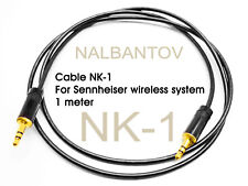 Cable NK-1 for Sennheiser wireless systems to NCM Microphone Pickup Systems