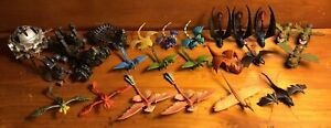 How to Train Your Dragon: (25) Lot of Mini Dragons, Weapons/Traps Figures Toys
