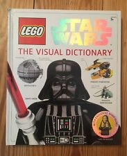 Lego Star Wars The Visual Dictionary hardcover book w/ MINIFIGURE
