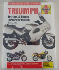 Reparaturhandbuch Triumph Daytona Thunderbird Speed Triple Legend TT Sprint