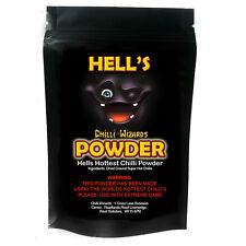 Chilli Powder. Hells Powder - Ghost Pepper - Moruga Scorpion - Carolina Reaper