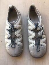 TERRASOLES  Woman's Size 9 Tan/beige slip on walking outdoor shoes?