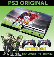 Placas frontales y etiquetas de vinilo Sony PlayStation 3 para consolas y videojuegos Mando