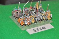 15mm medieval / english - men at arms 12 figs - cav (56601)