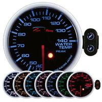 D racing 60mm Temperatura Acqua Strumentazione Strumento Warning Picco Calibro
