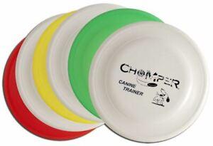 Wham-O FASTBACK MISPRINT 6 PACK - Set of Six Chomper Dog Disc Frisbees -Assorted