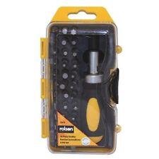 Rolson 38 piece Stubby Ratchet Screwdriver and Bit Set