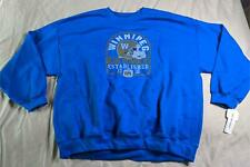 Winnipeg Blue Bombers Men's Arched Faded Helmet Sweatshirt SC4 Blue Size 2X NWT