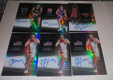 2018-19 Panini Select On-Card Auto SP Stacey Augmon Bryant Reeves 6 Card Lot