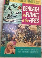 Beneath The Planet of the Apes Comic Book,Poster,Simian Sentinel,& Other Comics!