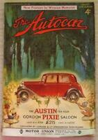 The AUTOCAR Magazine 20 Jan 1933 15hp Daimler Saloon & Rover Pilot Coupe Tested