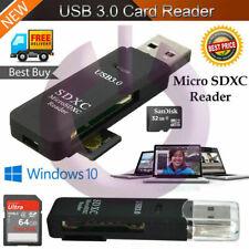 Memory Card Reader Multi USB 3.0 High Speed Adapter Flash Micro SD SDXC TF UK