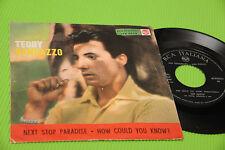"TEDDY RANDAZZO 7"" NEXT STOP PARADISE ORIG ITALY 1958 !!!!!!!!!!!!!!!!!"